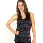 Chic Oblique Torched Tank