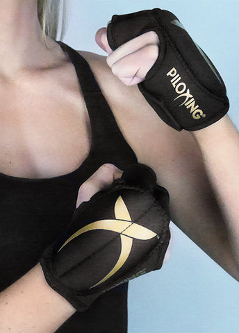 PILOXING Golden Gloves - 10 pack