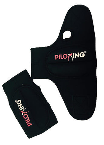 PILOXING Gloves LARGE BLACK 1/2lb (250g)