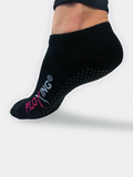 Short Sassy Closed Toe Grip Socks