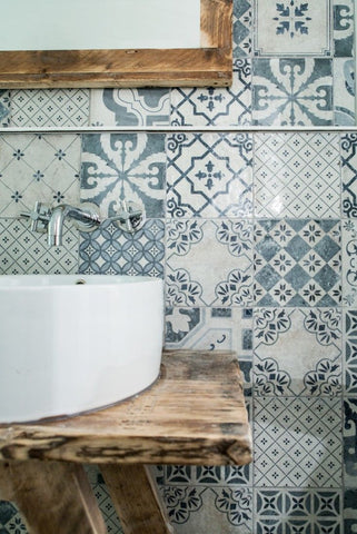 Spanish Tiles Bathroom Inspiration