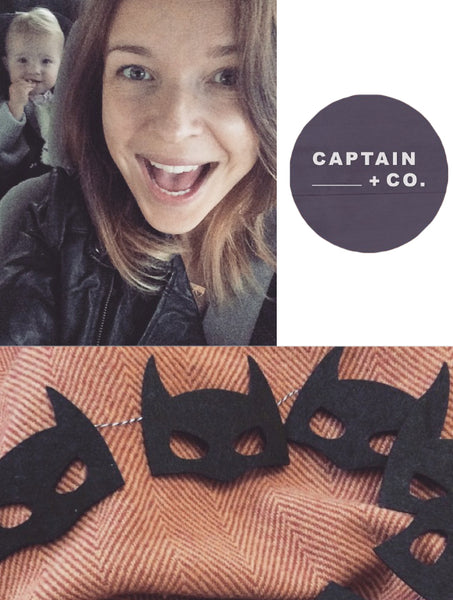 Captain + Co Batman Bunting