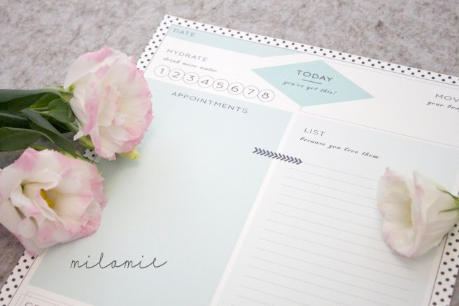 Milamie & Co Daily Planner