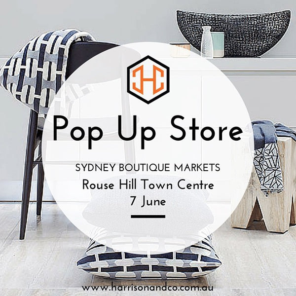 Pop Up Store Harrison & Co