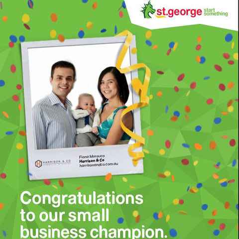 St George Small Business Champion 2015 Harrison & Co