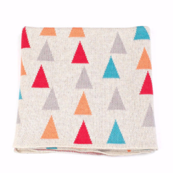 Alpine Baby Blanket - Melon/Turquoise/Berry - Harrison & Co - Lifestyle & Design