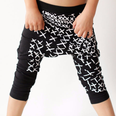 Harems Leggings White Crosses
