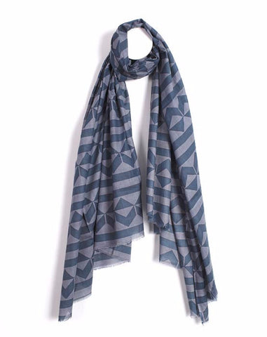 Triangle Lines Women's Scarf