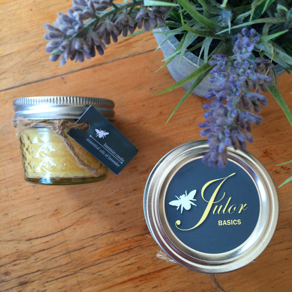 Lavender Beeswax Candles Treat Size - Harrison & Co - Lifestyle & Design