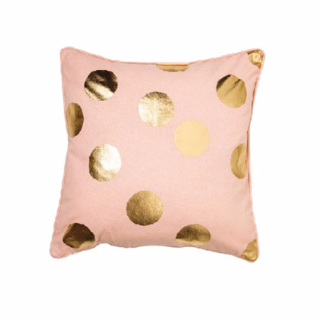 Gold Spot Pink Cushion - Harrison & Co - Lifestyle & Design