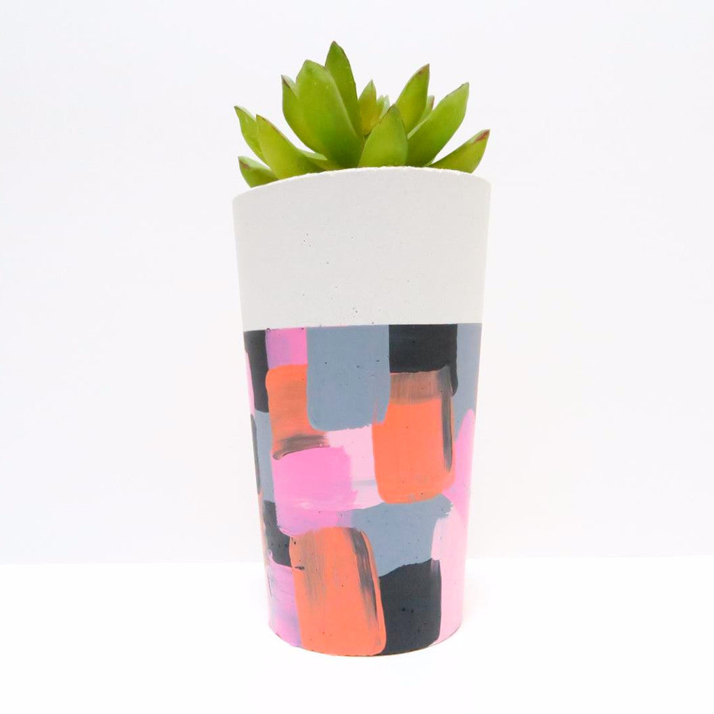 Designer Concrete Abstract Planter - Harrison & Co - Lifestyle & Design