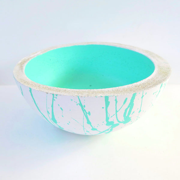Designer Concrete Confetti Jumbo Lunar Bowl - Harrison & Co - Lifestyle & Design