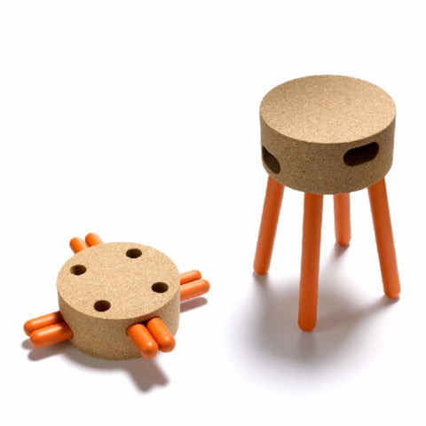 Designer Cork Stool - Limited Release