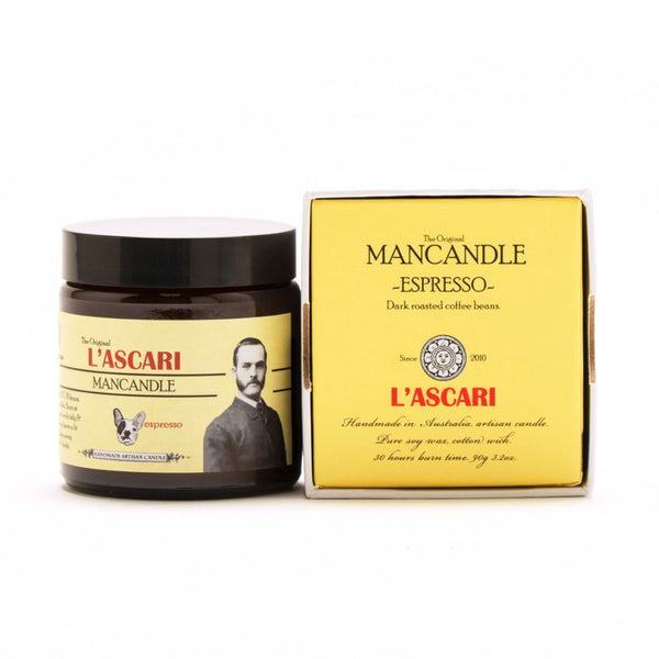 Mancandle Espresso Candle - Harrison & Co - Lifestyle & Design