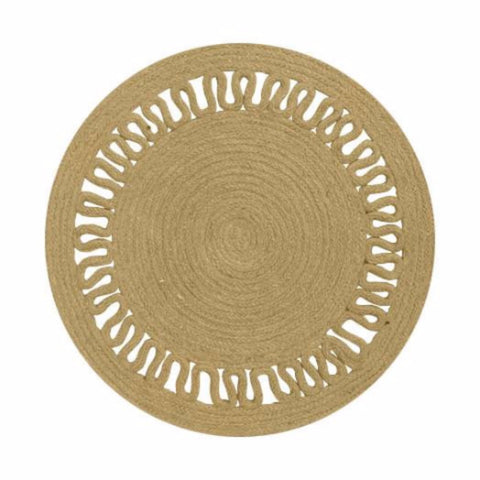 Jute Evelyn Placemat - Set of 4