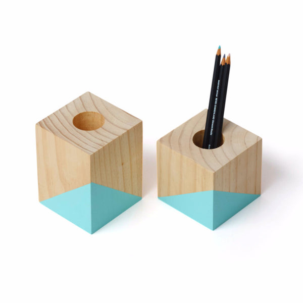 Geometric Pencil Holder Set - Harrison & Co - Lifestyle & Design
