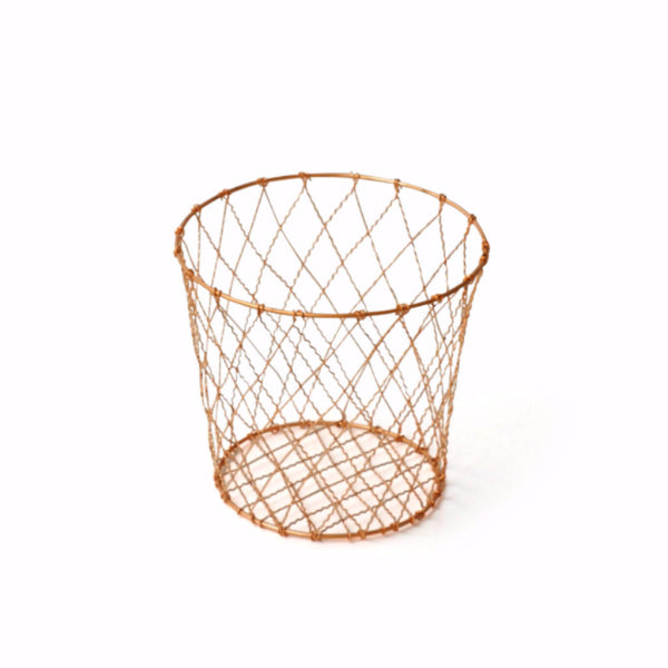 Copper Waste Basket - Harrison & Co - Lifestyle & Design