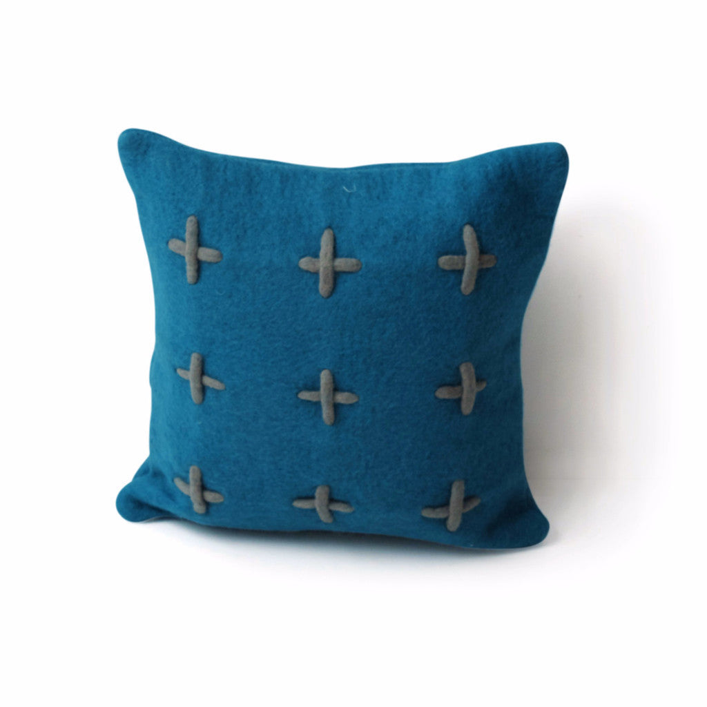 Opal Grid Cushion - Harrison & Co - Lifestyle & Design