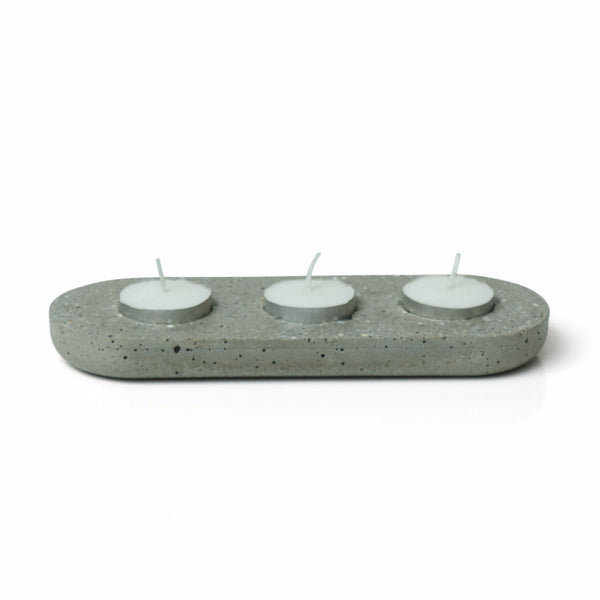 Tea Light Concrete Holder - Harrison & Co - Lifestyle & Design
