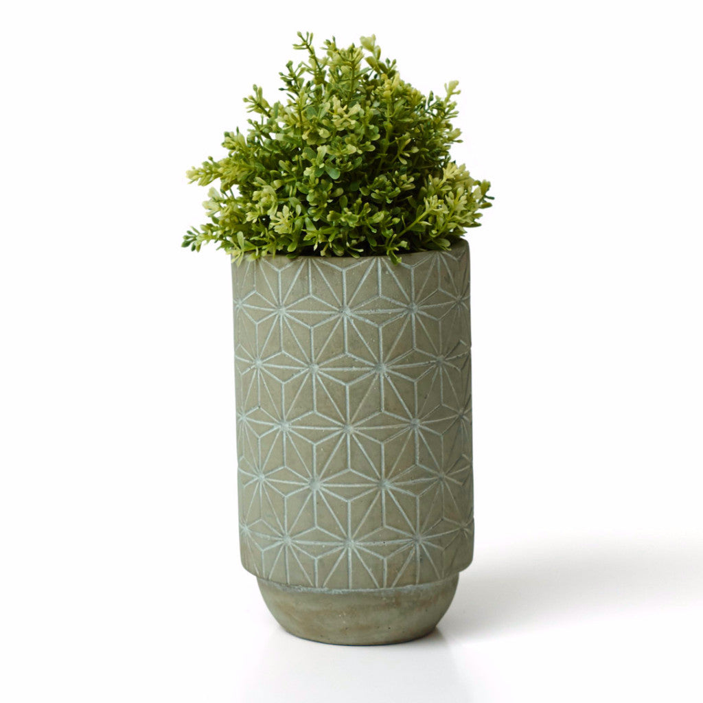Star Concrete Vase - Harrison & Co - Lifestyle & Design