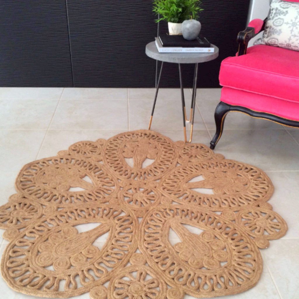 Jute Laurent Round Rug - Harrison & Co - Lifestyle & Design