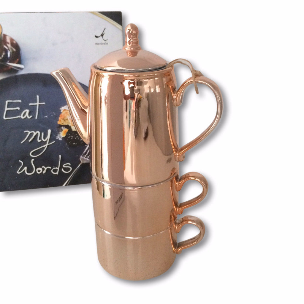 Tea For Two - Rose Copper - Harrison & Co - Lifestyle & Design