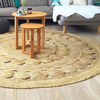 Jute Poppy Round Rug - Harrison & Co - Lifestyle & Design