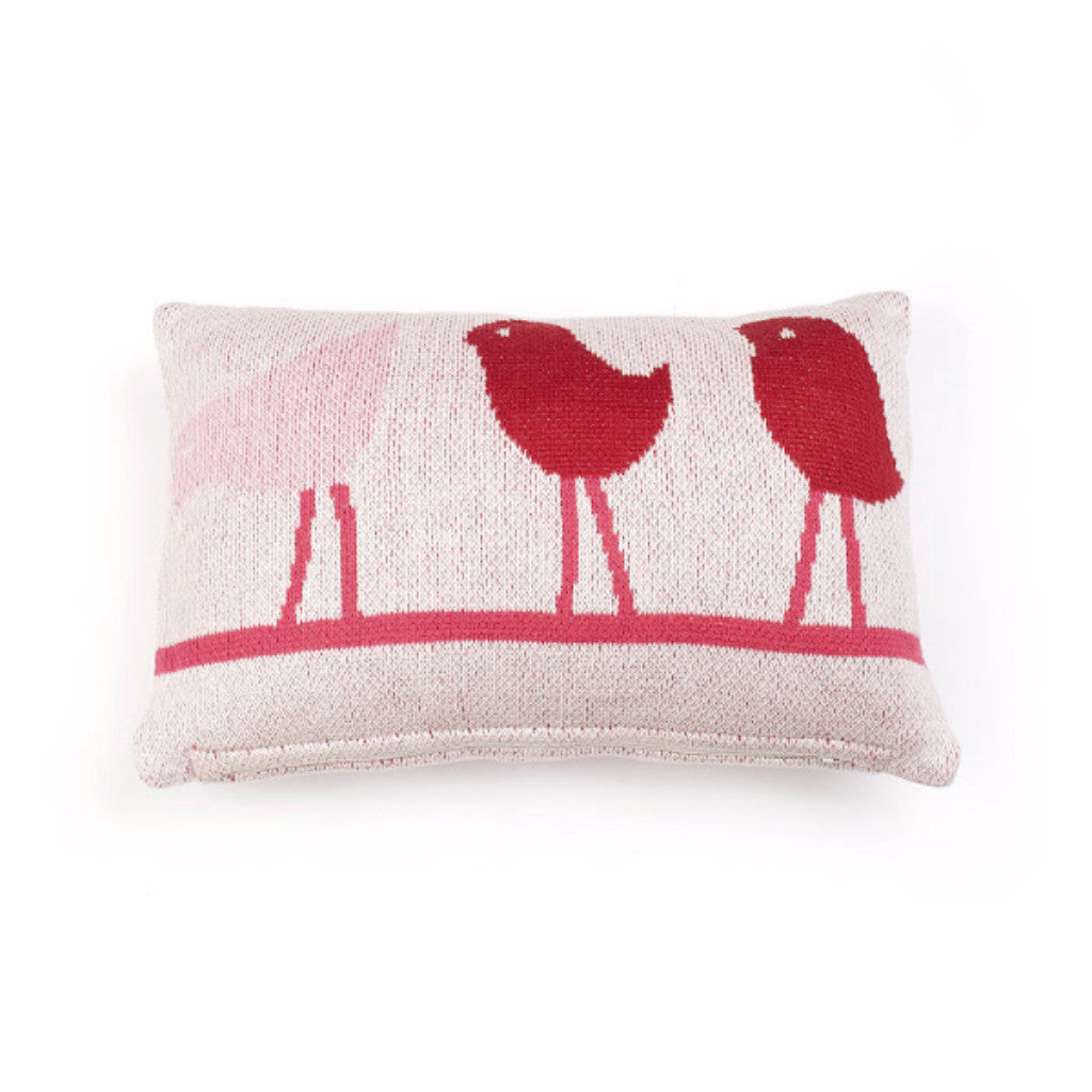 Bird On A Wire Baby Cushion - Harrison & Co - Lifestyle & Design