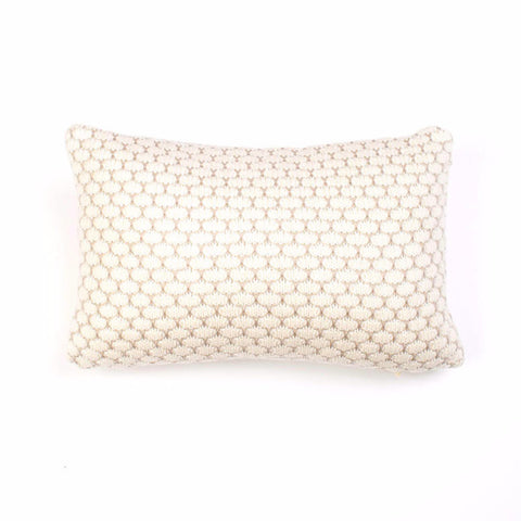 Vintage Knit Baby Cushion