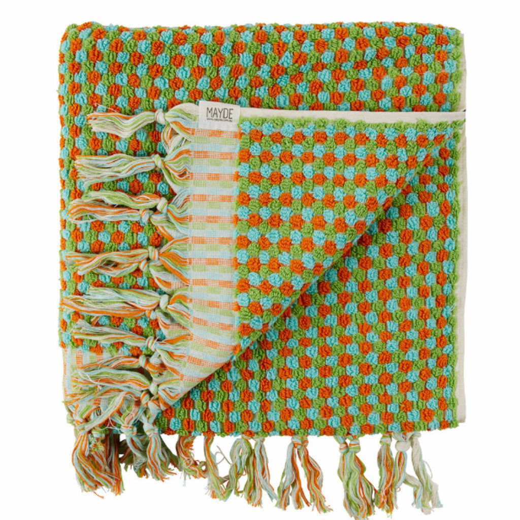 Rainbow Lime Turkish Towel - Harrison & Co - Lifestyle & Design