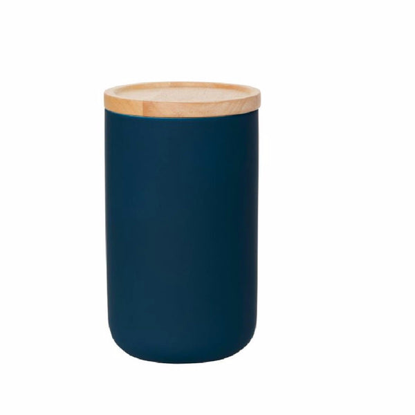 Tall Canister Navy Matt - Harrison & Co - Lifestyle & Design