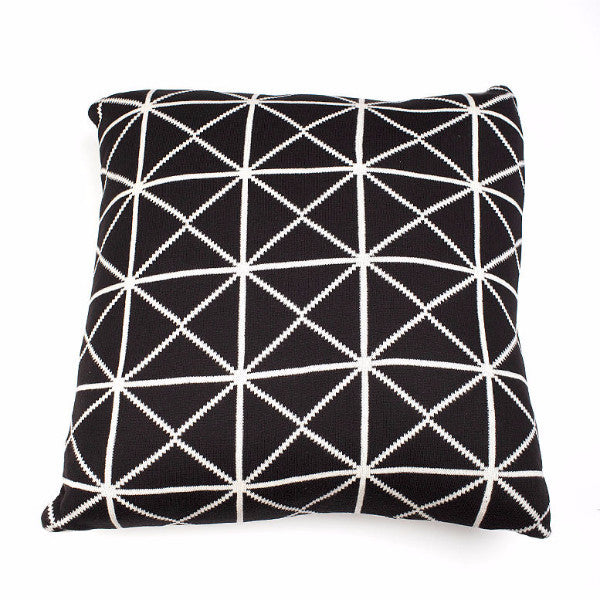 Oxford Geometric Cushion - Square - Harrison & Co - Lifestyle & Design