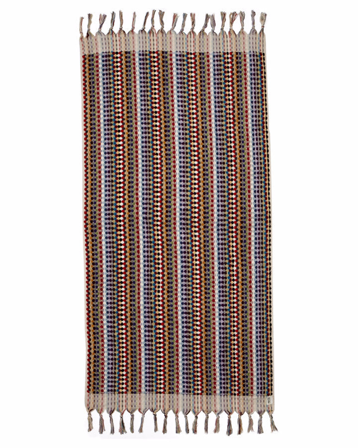Rainbow Multi Turkish Towel - Harrison & Co - Lifestyle & Design