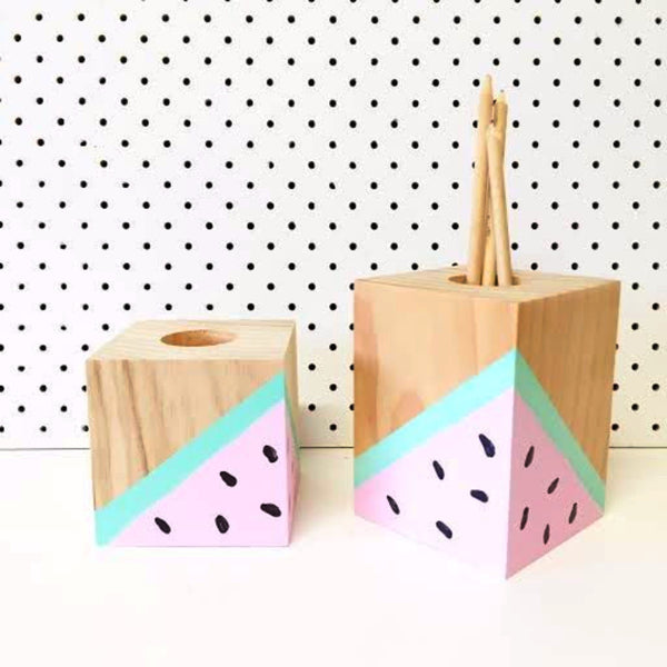 Watermelon Pencil Holders - Harrison & Co - Lifestyle & Design