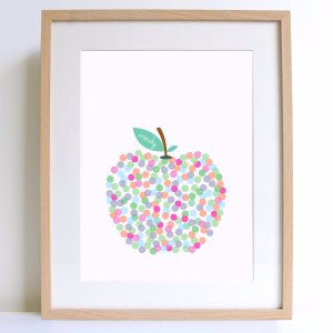 Crunchy Apple A4 Print - Harrison & Co - Lifestyle & Design
