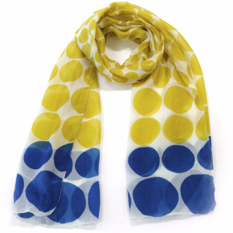 Pop Dot Silk Scarf