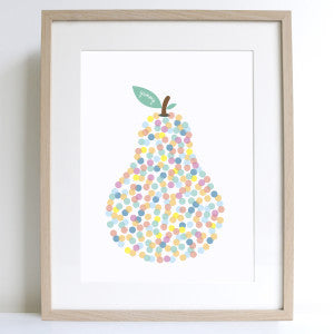 Yummy Pear A4 Print - Harrison & Co - Lifestyle & Design