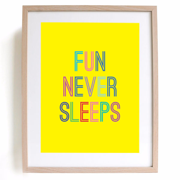 Zesty Fun A4 Print - Harrison & Co - Lifestyle & Design