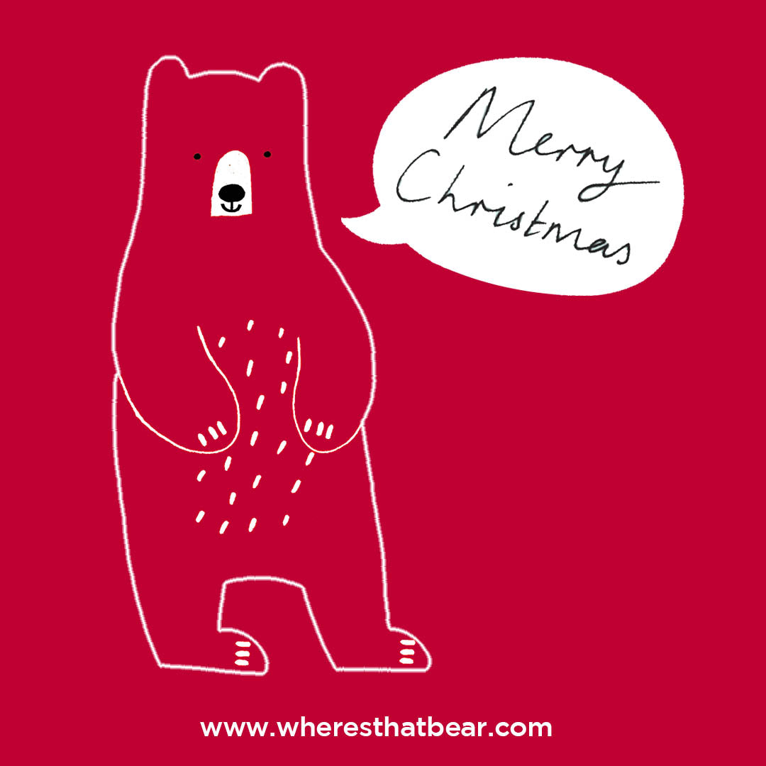 Merry Christmas from Where's that Bear?