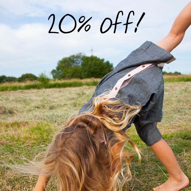 There's 20% off our Summer collection this bank holiday weekend. Use the code MAYDAYBEAR at checkout.</a></div>         <div><a href=