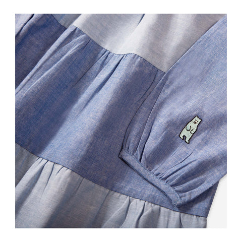 Beach Chambray Dress detail