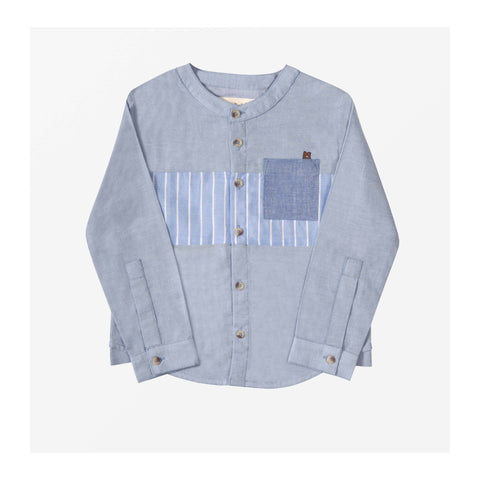 Beach Chambray Shirt front