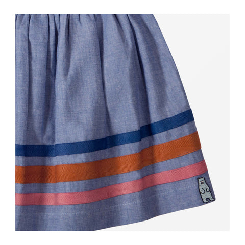 Beach Chambray Skirt