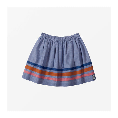 Beach Chambray Skirt front