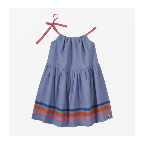 Beach Chambray Sundress front