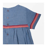 Chambray Dress detail