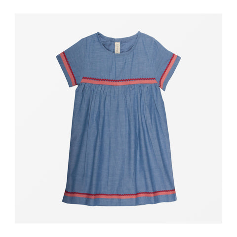 Chambray Dress front
