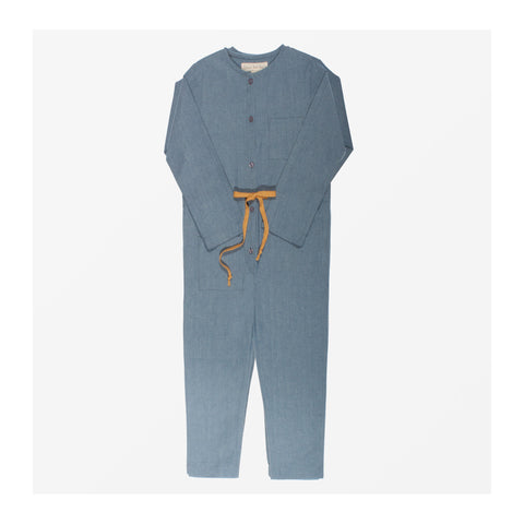 Chambray Jumpsuit front