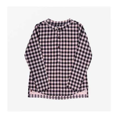 Chelsea Check Top Fairy Pink front