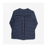 Chelsea Check Top Rainfall Blue back